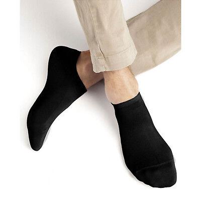 Women Men TRAINER SOCKS INVISIBLE White Black Ankle Liner Cotton Sports No Show