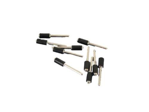 """TEMO 10p 3//8/""""  Rubber Mandrel Sand Drum Holder 1//8/"""" Shank for Rotary tool"""