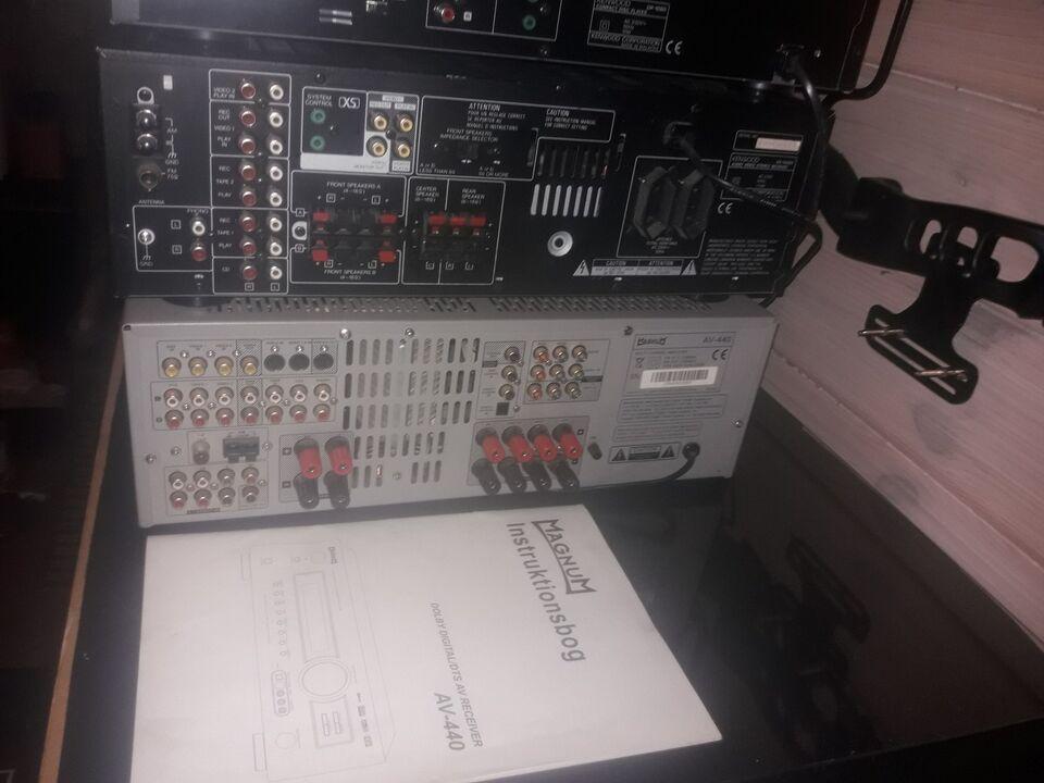Andet, magnum Av440+kr-v 5080, 6.1 kanaler