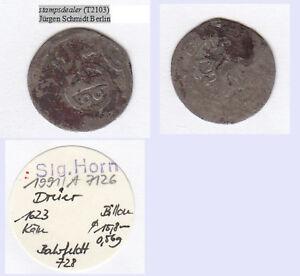 Dreier-1-96-Taler-1623-Coelln-Georg-Wilh-Br-Preussen-stampsdealer
