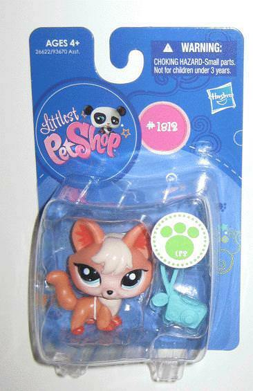 Littlest Pet Shop Adorable Little Fox  1812 Hasbro MIP BRAND NEW
