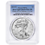 2019-W Proof $1 American Silver Eagle PCGS PR70DCAM First Strike Flag Label