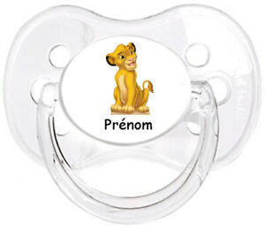 Tetine-bebe-personnalisee-Roi-lion-E11-Custom-Pacifier-BABY