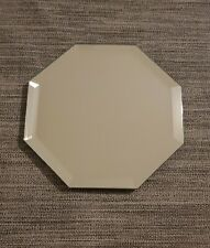 1 Spiegeluntersetzer Spiegel Teller 20cm x 20cm eckig