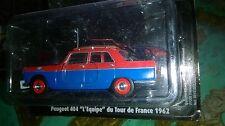 NOREV TOUR DE FRANCE PEUGEOT 404 L'Equipe 1962 Neuf En Boite