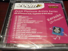 ZOOM PLATINUM KARAOKE DISC CDZMP126 PUSSYCAT DOLLS SUGABABES & GIRLS ALOUD CD+G