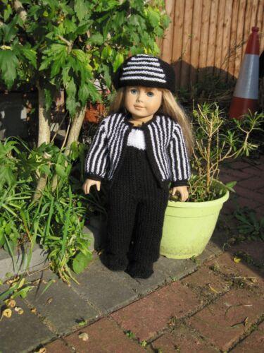 KNIT PATTERN Alexandra HKD610 fit AG Doll & similar 18ins/46cm dolls