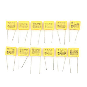 CBB 104J 630V 100NF 0.1UF P10mm Metallized Film Capacitor PL 10pcs