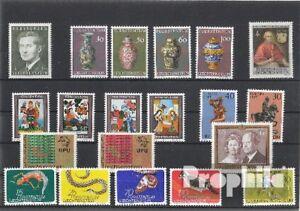 Briefmarken-Liechtenstein-postfrisch-1974-kompletter-Jahrgang-Liechtenstein-xx-1