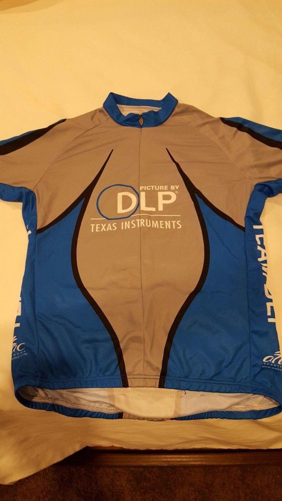 New Texas Instruments Cycling Jersey Bike Shirt New Medium Rare