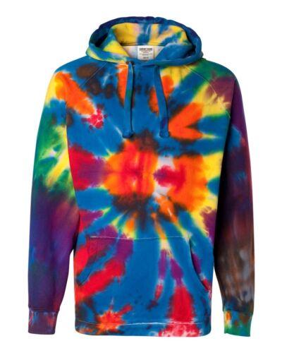 Heren Meerkleurig Hoodie Tie 3xl xl S Rainbow met Dye Sweatshirt Capuchon 2xl Maat Spiraal Nieuwe Hoody qTZwUtA