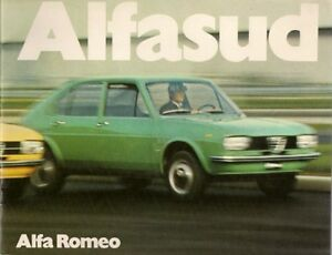 Alfa Romeo Alfasud Saloon UK Market Sales Brochure EBay - Alfa romeo alfasud for sale