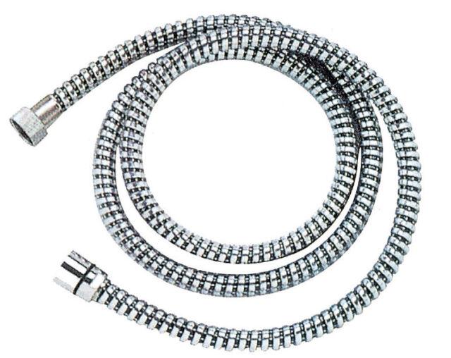 tubo flessibile per doccia cm 200 m 2 ariflex conico in acciaio cromato
