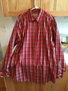 Wrangler-Plaid-Shirt-xxl-long-sleeve-FREE-SHIPPING