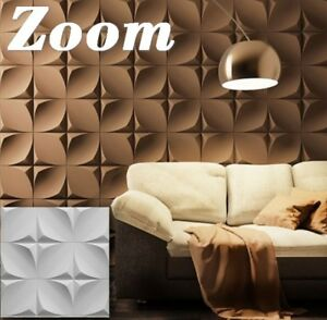 *dune* 3d Decorative Wall Panels 1 Pcs Abs Plastic Mold For Plaster Sculpting, Molding & Ceramics