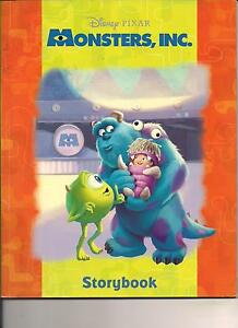 Monsters Inc Disney Pixtar Story Book 2012 Animation Illustrated Story Cute Ebay