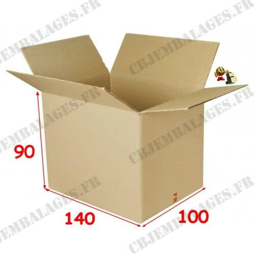20 cardboard boxes 140 x 100 x 90 mm for expedition
