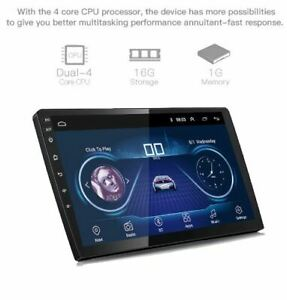 9 10 Inch Android 8 1 Universal Car Radio 2 Din Android Car Radio Dvd Player Gps Ebay