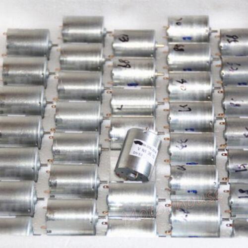 DC5V 6V 5000RPM Mini RK-370C Motor 24mm Diameter Round Motor DIY Pump Gear Motor