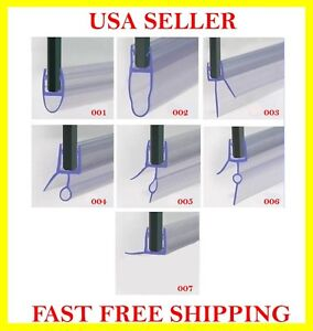 Plastic Seal Strip For Swinging Sliding Frameless Bath