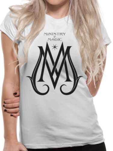 Ministry of Magic Fantastic Beasts Crimes of Grindelwald White Womens T-shirt