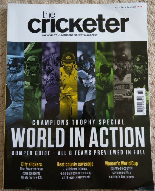THE CRICKETER - JUNE 2017 (VOLUME 14, ISSUE 9)