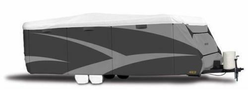 Adco 34847 RV Cover |Travel Trailer| Designer Series Tyvek Plus Wind | 34'1