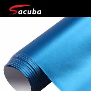 82fb45da82 1.5M x 15M Sky Blue Matt Chrome Car Vinyl Wrap Air Bubble Free ...