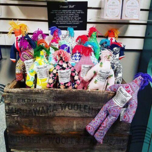 "1//5//10PCS Random Pattern Color Stress Relief 12/"" Dammit Doll Plush Birthday Gift"