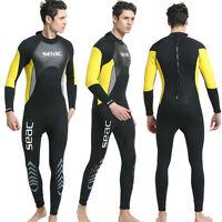 Men's 3 MM Neoprene Warm Wetsuits Anti-UV Swim Surf Snorkeling Full Body Wetsuit