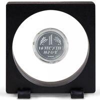 Magic Floating Frame 3d Capsule Holder Rocks Gems Diamond Coin Jewelry Display