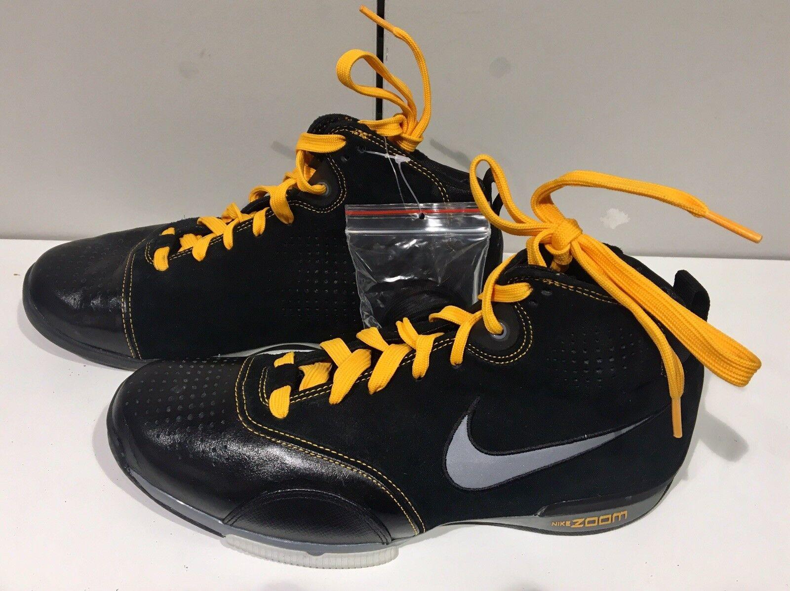 Nike Zoom Black Suede Mens 8.5