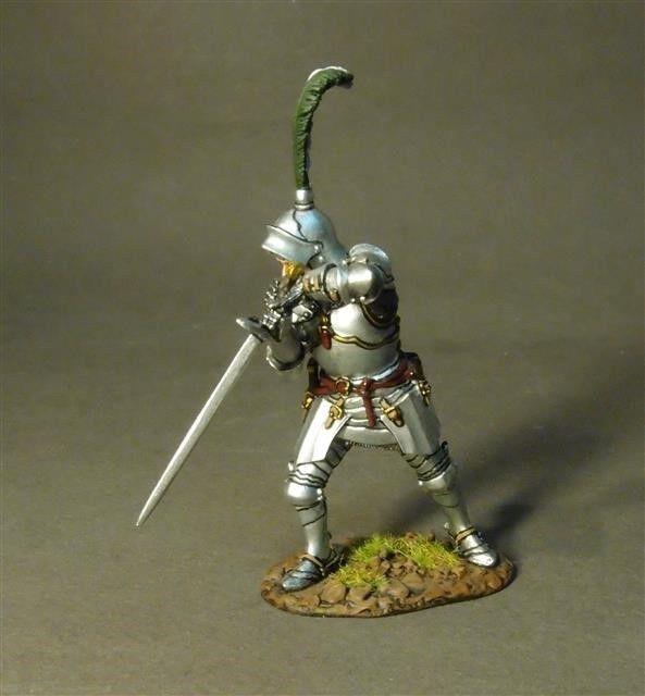 John Jenkins Designs Soldiers LANC-21 Lancastrian Knight Battle Of Bosworth 1485