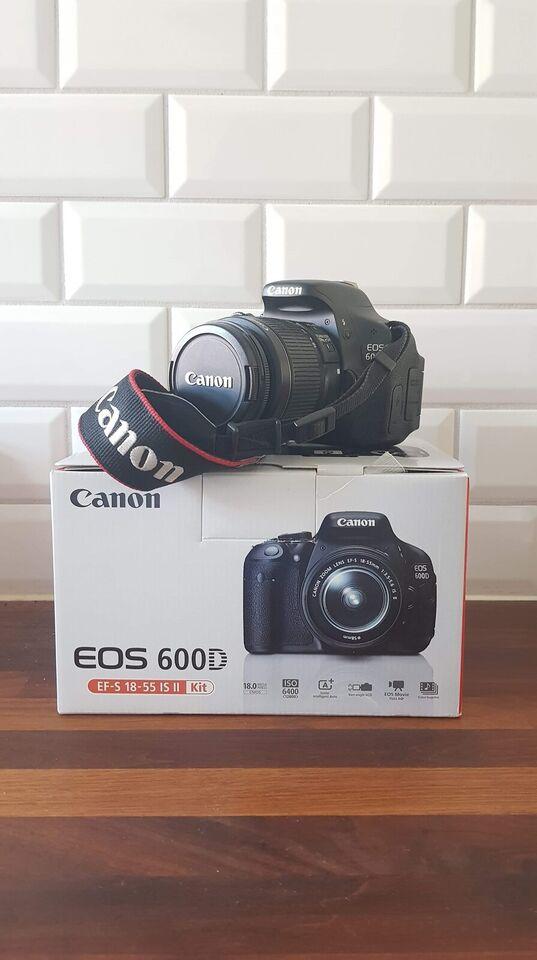 Canon, 600D, 18 megapixels