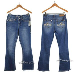 Nuevo Con Etiquetas Seven 7 Women S Boot Cut De Superdry Hermosa Blue Jeans Pantalones Precio Minorista Sugerido Por El Fabricante 74 Ebay