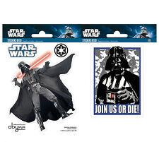 Wandsticker Mini-Wandtattoo Star Wars Sith Lord Darth Vader Kinderzimmer selbstk