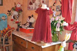 robe-neuve-repetto-rouge-fenice-5-ans-plissee-121-EUROS