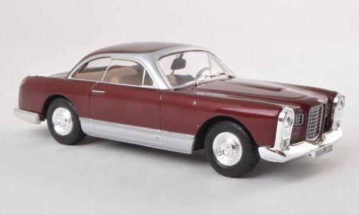 Whitebox WB044 Facel Vega FV 1958 Metalic Red 1 43rd Scale Model In Case T48Post