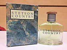 Stetson Country By Coty Men Cologne Spray 1.7 oz / 50 ml NIB Rare as PiC