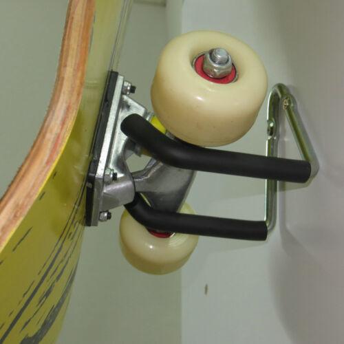 Skateboard Storage Wall Hanger /& Scooter Wall Hanger Rack Mount For Completes