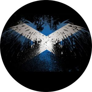 4x4-Spare-Wheel-Cover-4-x-4-Camper-Graphic-Sticker-Scottish-Eagle-Scotland-134