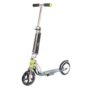 hudora city scooter kinder roller big wheel alu 8 205. Black Bedroom Furniture Sets. Home Design Ideas