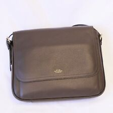 Authentic - new-Smythson BURLINGTON LARGE MESSENGER BAG.RTL $1695.00