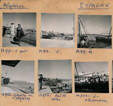 ALGESIRAS - 9 Photos Port Douane Gibraltar - Pl. Espagne 1