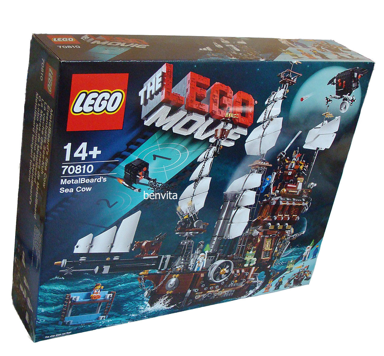 LEGO ® Movie 70810-fer Barts see-vache 2741 pièces 14+ - NEUF