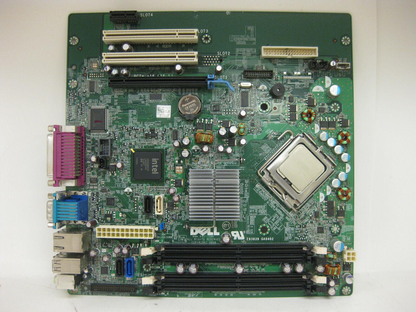 Dell OptiPlex 760 MT Motherboard LGA775 G214D with Core 2 Duo 3.16Ghz Processor