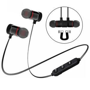 Sport-Wireless-Bluetooth-Headphone-Neckband-Magnetic-Earphone-Stereo-Headset-Mic