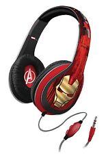 Iron Man 3 Marvel Avengers Over the Ear Headphones kids iPod smartphone MP3 NEW