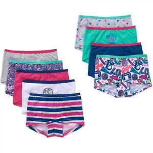 1e086eb9754c Girls' Cotton Boyshort Panty, 9 packGirls' Cotton Boyshort Panty, 9 ...