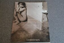 catalogue CHRISTIE'S New York  2086: 2007 On artists Photographs from the collec